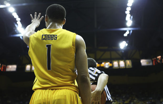 Justin Cobbs and the Bears face Oregon to begin their final home stand of the season.