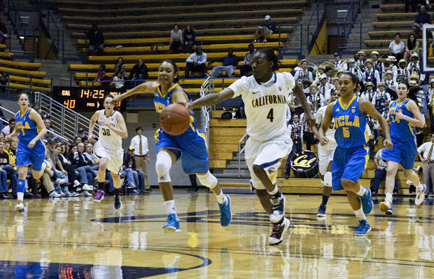 Eliza Pierre had four points, two assists and two steals in 14 minutes of play Thursday night.