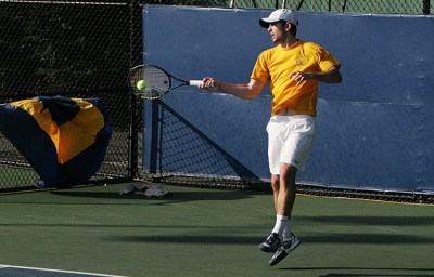 Senior Nick Andrews and freshman Andrew Scholnick won on court two.