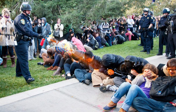 Report On Uc Davis Pepper Spray Incident Blames Administrators
