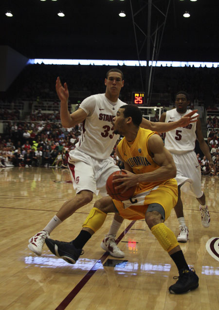 Cal Mens Basketball at Stanford