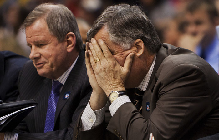 After its worst first half of the season, the Cal mens basketball team fell to South Florida in its NCAA play-in game.