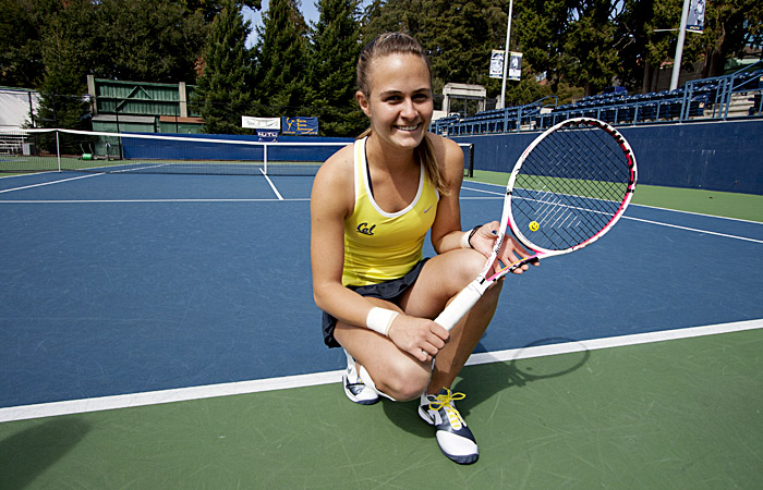 Zsofi Susanyi has accumulated a 26-4 record in her freshman campaign in Berkeley.