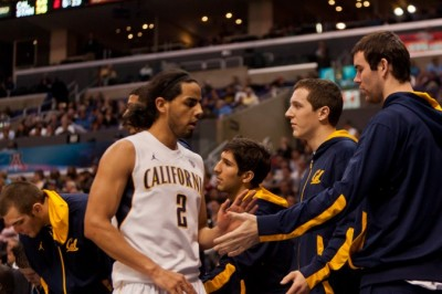 Jorge Gutierrez and Cal received an at-large bid in the NCAA Tournament.