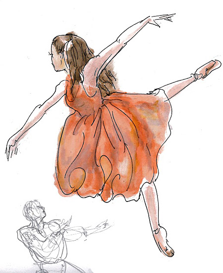ballet-illustration