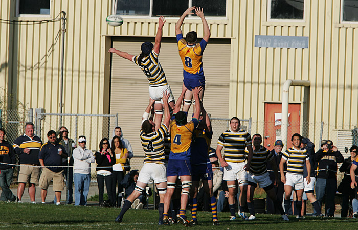 The Cal rugby team tacked on its widest final margin this season versus Santa Cruz on Sunday.