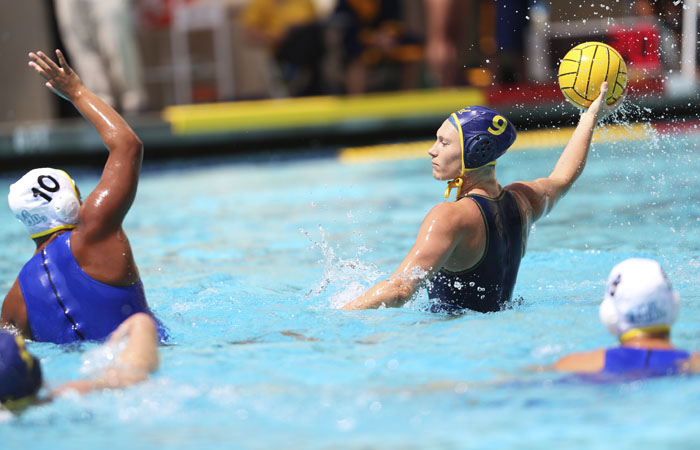 Junior Breda Vosters notched a game-high four goals in Saturday's home upset of UCLA. Michael Tao/Staff