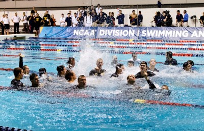 The Cal mens swim team won its second consecutive national title on March 24.