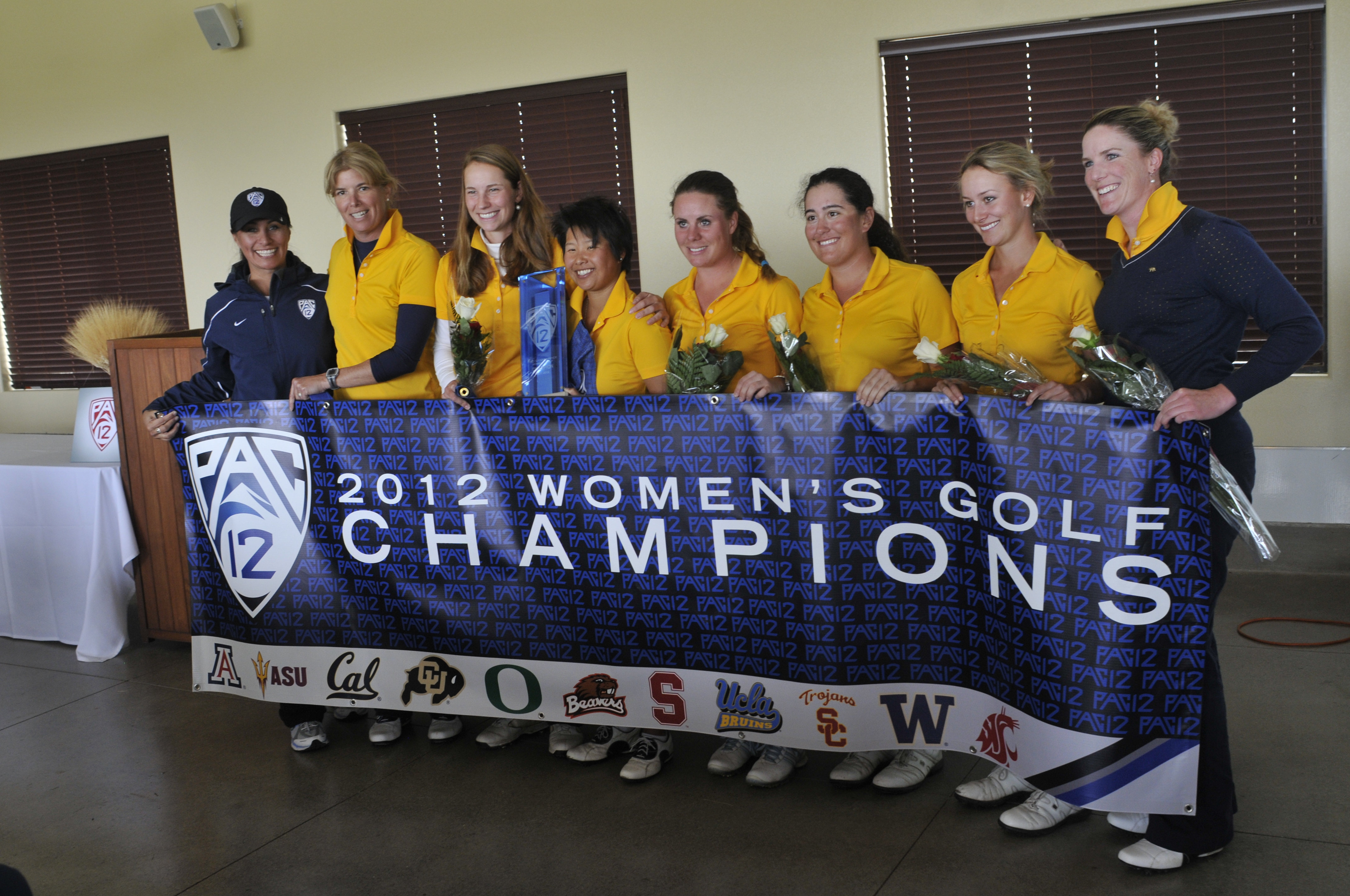 The Cal women's golf team won the Pac-12 Championship on Sunday, the second title in program history. Cal will compete in regionals from May 10-12 with the goal of advancing to NCAAs for the second straight year.