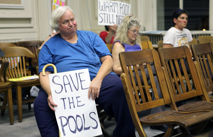 Berkeley community members advocate for the reopening and renovation of the city's closed pools.