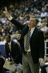 Cal men's basketball coach Mike Montgomery's contract was extended two years through the 2015-16 season on Monday.