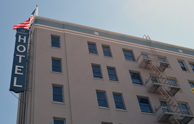 Management is looking to sell the historic Hotel Durant located at 2600 Durant Ave.