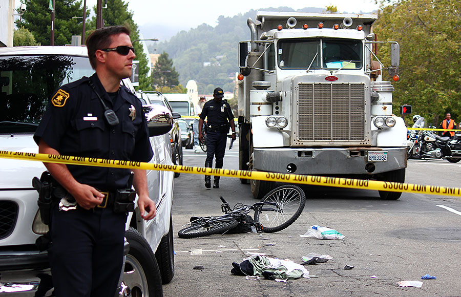 Shlomo Bentin, who was a guest lecturer at UC Berkeley, was killed after a collision with a truck near the intersection of Bancroft Way and Fulton Street on July 13, 2012.
