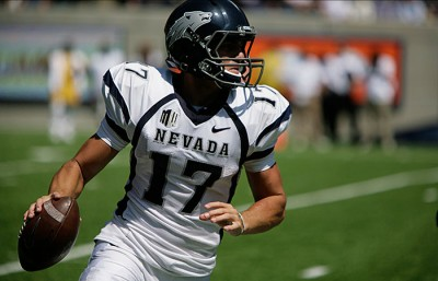 Nevada's Fajardo and the pistol formation stifled an underwhelming Cal defense on Saturday.