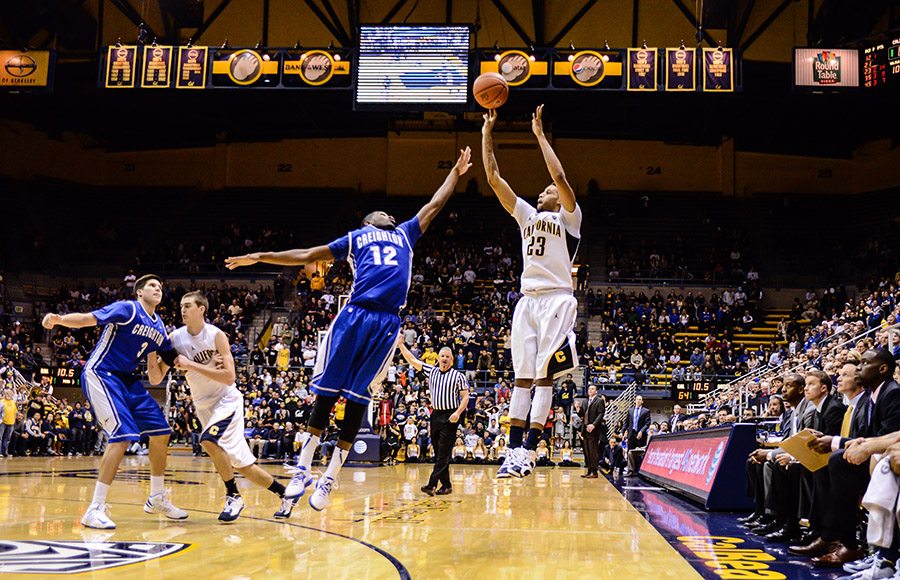 Junior swingman Allen Crabbe shot 6-for-26 from the field in Cal's 74-64 loss to Creighton on Saturday night.