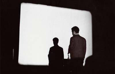 Still from Nam June Paik's silent film, 'Zen for Film,' a work featured in the 'Silence' exhibit at the BAM/PFA.