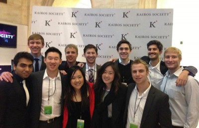 "The Kairos Society selected five student ventures from UC Berkeley to be showcased as part of the ""Kairos 50"" at the summit. Politify.com was one of the UC Berkeley teams chosen to present at the New York Stock Exchange."