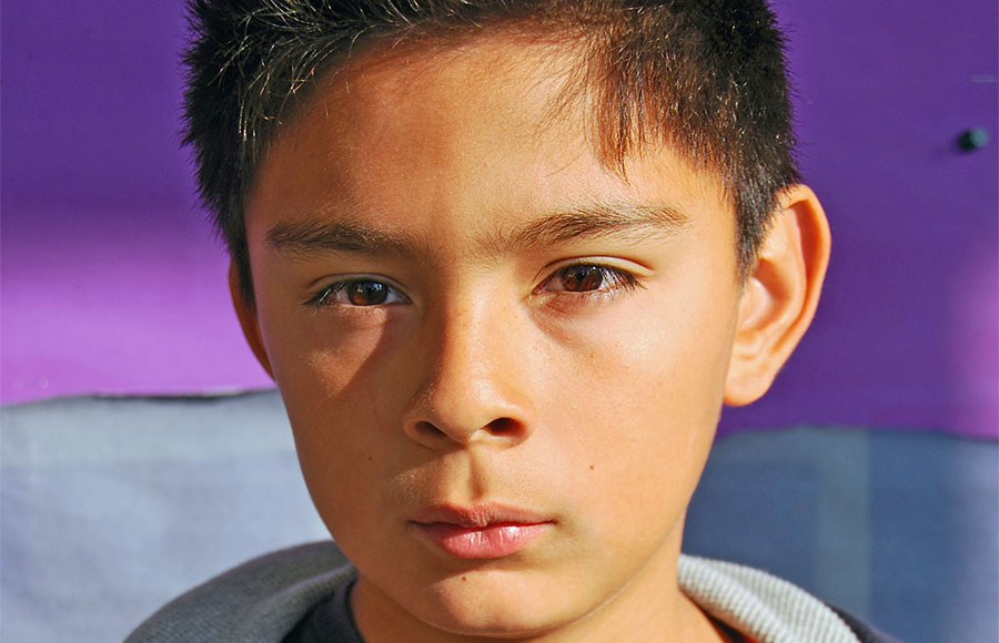 Berkeley elementary school student Rodrigo Guzman's family realized they could not come back home when they discovered they had failed to renew their visas when they visited Mexico.