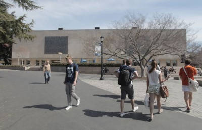Through the efforts of the city council, the food trucks may be relocated to the plaza near Boalt Hall.
