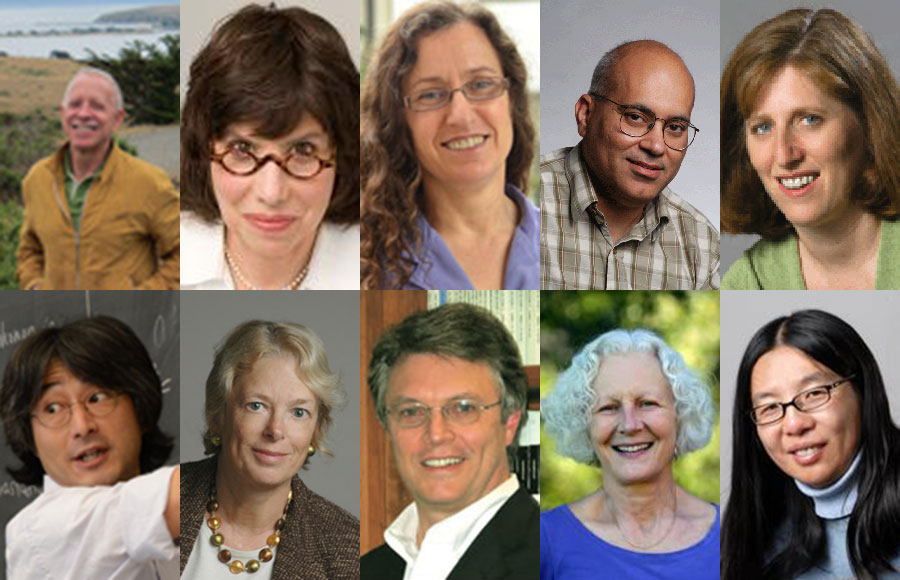Professors Frances Hellman, Alison Gopnik, Jitendra Malik, Susan Marqusee, David Miller, Hitoshi Murayama, Pamela Samuelson, Ann Swidler, T. Don Tilley and Bin Yu were all recognized in a wide variety of fields and will now have a lifetime membership in the academy.