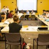The ASUC Senate meets in March. A bill places a referendum shifting Advocacy Agenda implementation on the spring ballot.