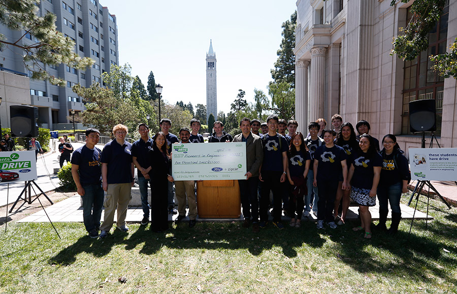 A UC Berkeley engineering student group won $25,000 earlier this month in a competition where Zipcar paired with the Ford Motor Company to hold a contest that awards a total of $300,000 among student organizations at qualified schools.