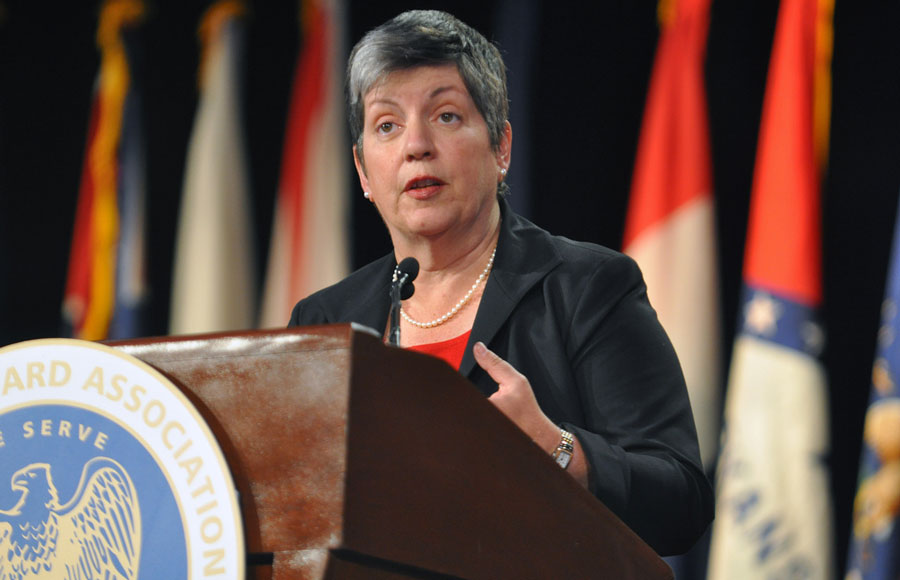 Janet Napolitano, the nominated UC President, has been the US Secretary for Homeland Security since January 2009.