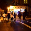 ASUC EAVP Safeena Mecklai led a safety walk on Southside to raise awareness for better lighting for pedestrians at night.