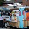 The food truck Dojo Dog opened at a new location at Bancroft and College on Thursday.