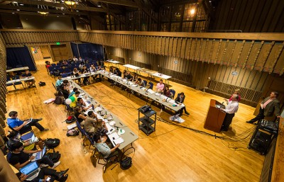 The ASUC Senate lacked a Student Action majority for the first time in three years, and the difference in senate activity was marked, with CalSERVE senators authoring 30 of the 64 bills the senate passed in the fall semester.