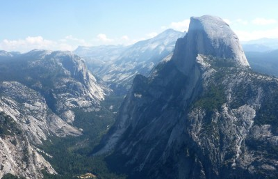 The iconic Yosemite landscape.
