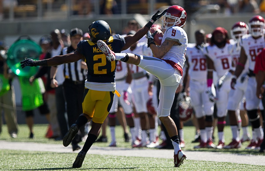 Cal's homecoming was soured with a loss at the hands of Washington State Saturday in Memorial Stadium.