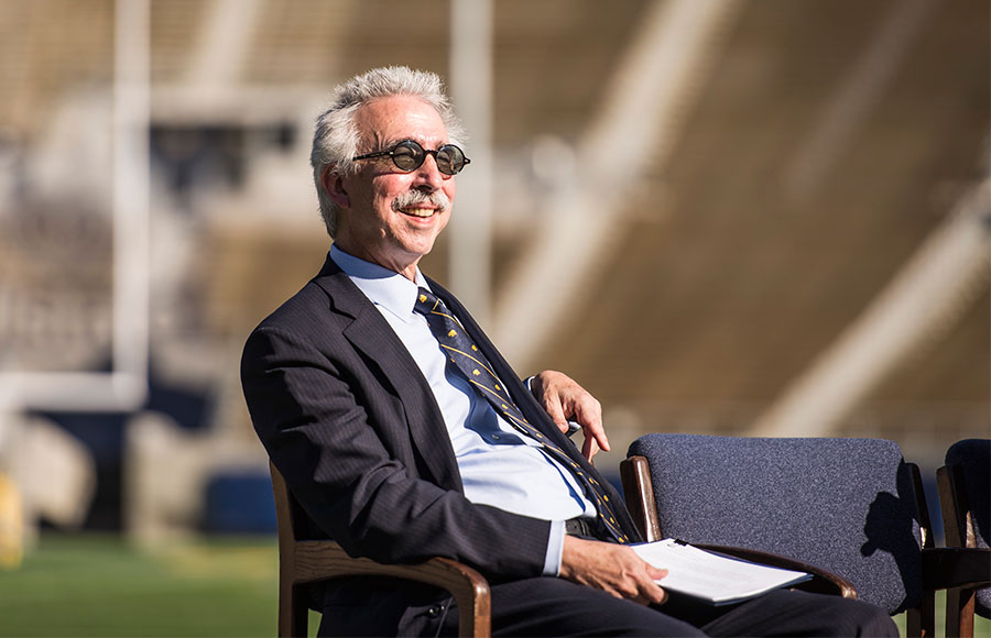 Chancellor Nicholas Dirks took office in June, replacing Robert Birgeneau. His inauguration will take place in Zellerbach Hall this Friday.