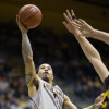 Justin Cobbs shoots against Arizona State on Wednesday. Against the Sun Devils, Cobbs scored 21 points. The senior would score 19 points against No. 1 Arizona on Saturday, including the clinching basket.