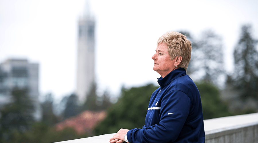 Cal softball coach Diane Ninemire has guided the Bears to 26 straight postseason appearances and the Women's College World Series title in 2002.
