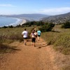 Dipsea Trail overlooking Stinson Beach