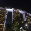 The Marina Bay Sands hotel.
