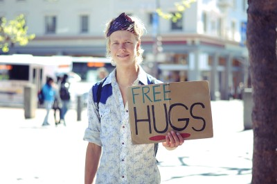 Emile, pictured in one of the photos from the Humans of Berkeley Facebook page.