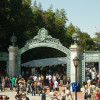 Sather Gate Cal Day