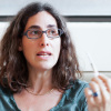 Sarah Koenig is the host of Serial, a podcast that reinvestigates a 1999 murder case.
