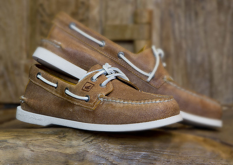 A pair of boat shoes are what a good majority of the members will be wearing (and will go great with the your shorts). Leave the high-tops for late nights