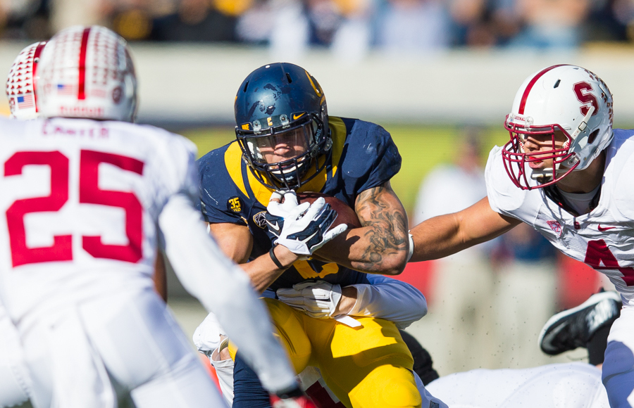 Cal football squanders opportunities, loses 5th-straight Big Game, 38-17