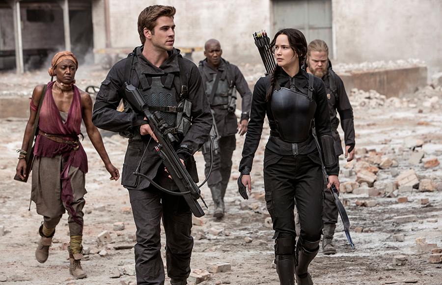 Penultimate 'Hunger Games' features geopolitical undertones