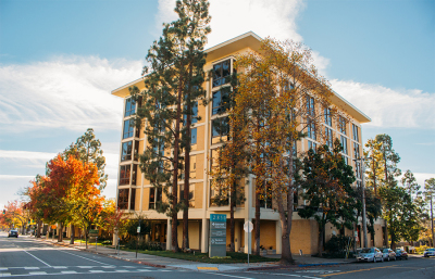 The six-story building located at 2850 Telegraph Ave. is one of several sites owned by UC Berkeley listed in the neighborhood newsletter, which alleges that the campus's tax-exempt status has led to multimillion dollar losses in revenue for the city.