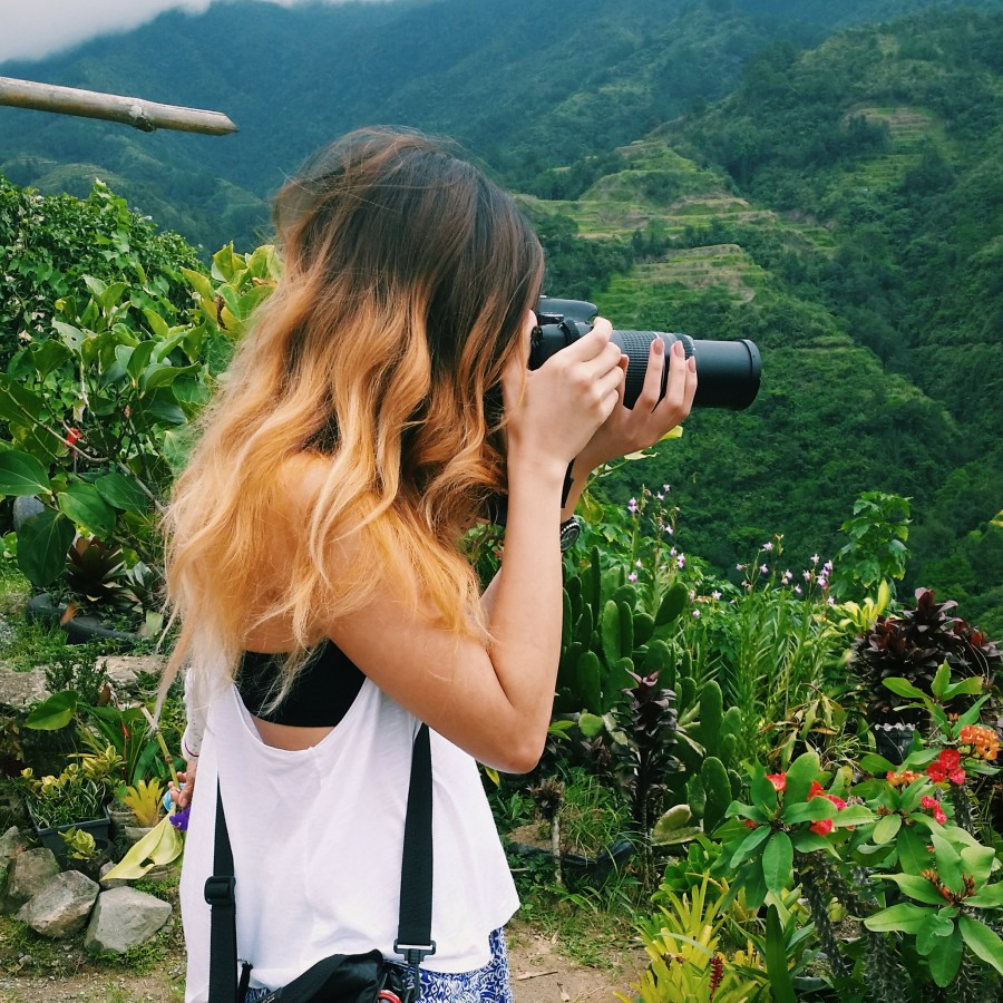 photographing the philippines