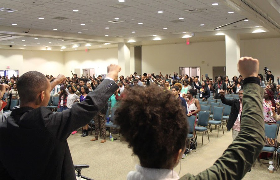 The Afrikan Black Coalition held its annual conference Martin Luther King, Jr. weekend at UC Irvine.