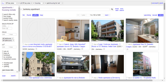 Resources to kick start apartment hunting the daily for Website similar to craigslist