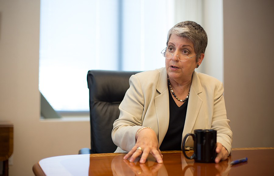 UC President Janet Napolitano hospitalized during cancer treatment