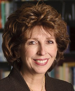 UC Davis Chancellor, Linda P.B. Katehi photographed in the reading room at Shields Library on the UC Davis campus.