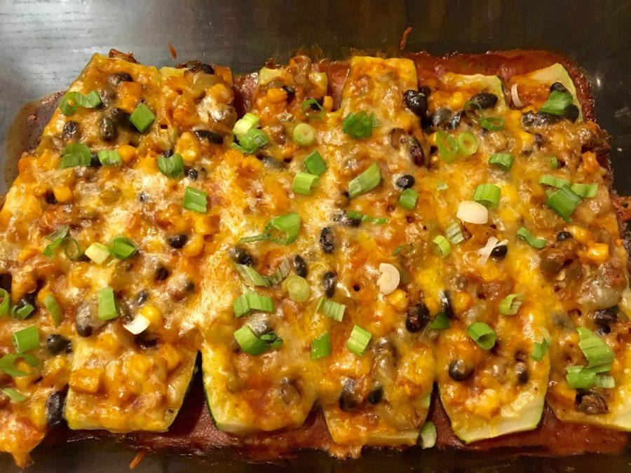 Zucchini boat enchiladas | The Daily Californian